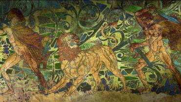 APPLESEED XIII ライオンを狩るアレキサンダーとクラテロス